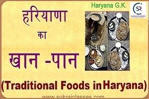 Traditional Food In Haryana- Sukrajclasses.com