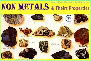 Non Metals Properties-sukrajclasses.com