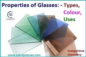 Types Of Glasses -Chemistry-sukrajclasses.com